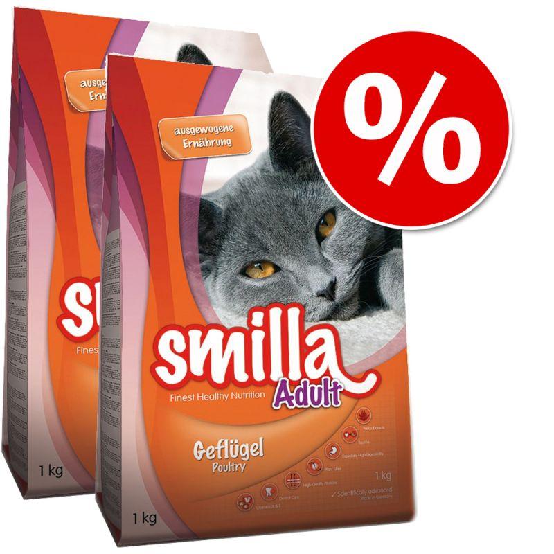 Smilla Dry Cat Food Economy Packs 2 x 4kg