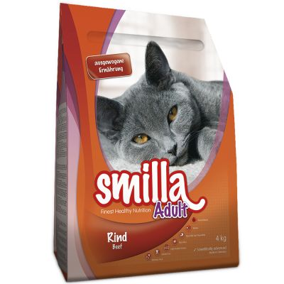 Smilla Dry Cat Food Economy Packs 2 x 4kg