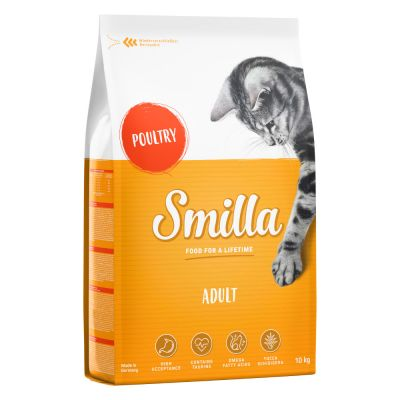 Smilla Dry Cat Food Economy Packs 2 x 10kg