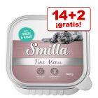 Smilla Fine Menu 16 x 100 g en oferta: 14 + 2  ¡gratis!