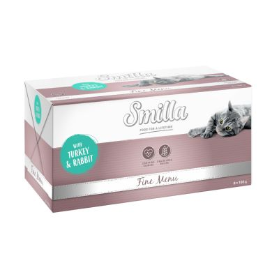 Smilla Fine Menu 8 x 100 g pour chat