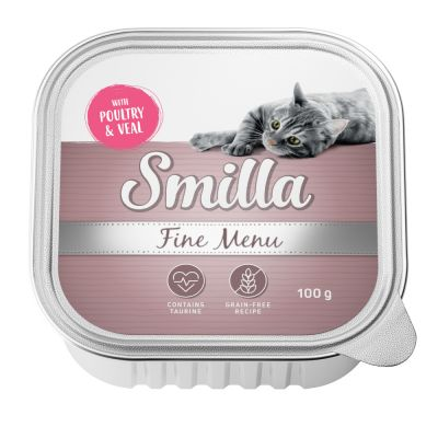 Smilla Fine Menu 24 x 100 g pour chat