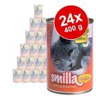 Smilla Gevogeltepannetje Voordeelpakket 24 x 400 g