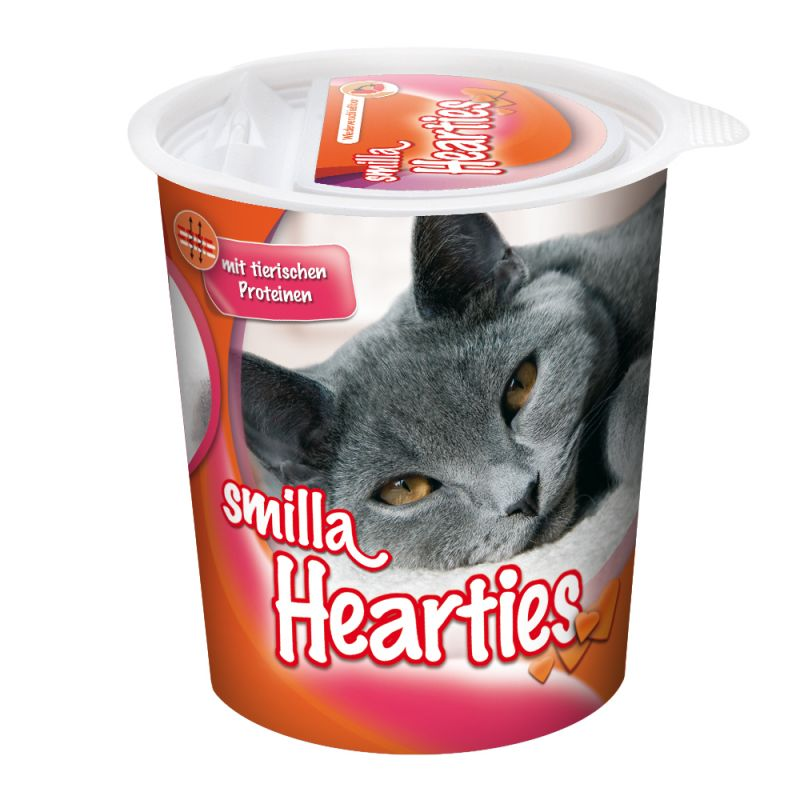 Smilla Hearties Snacks para Gato