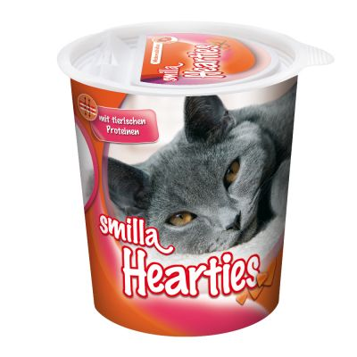 Smilla Hearties snacks para gatos