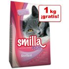 Smilla 4 kg pienso para gatos en oferta: 3 + 1 kg ¡gratis!