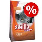 Smilla kissanruoka 10 kg: 5 € alennuksella!