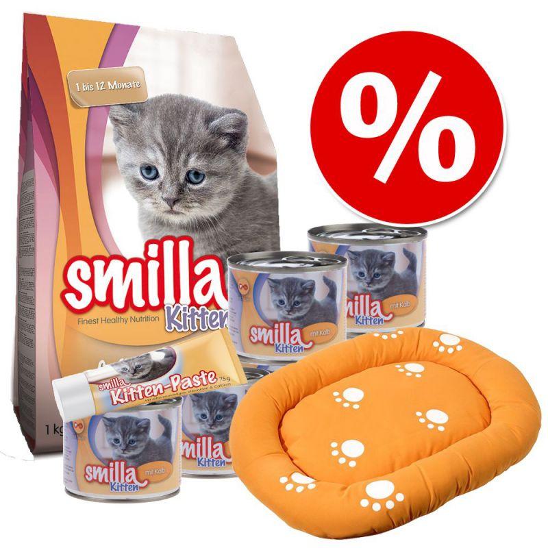 Smilla Kitten + cama Smilla para gatos - Pack de iniciação
