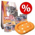 Smilla Kitten + cojín para gatos - Pack de inicio