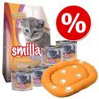 Smilla Kitten kezdőcsomag + macskaágy
