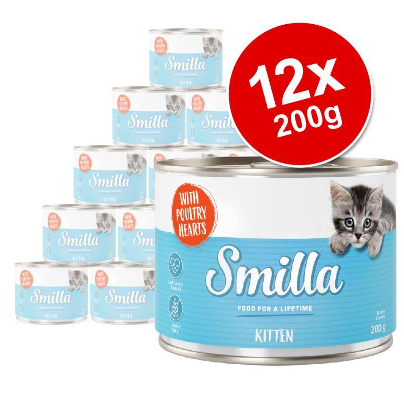 Smilla Kitten Saver Pack 12 x 200g