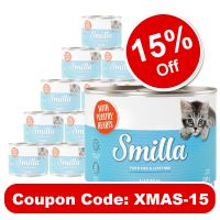 Smilla Kitten Saver Pack 12 x 200g