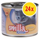 Smilla Kitten výhodné balení 24 x 200 g