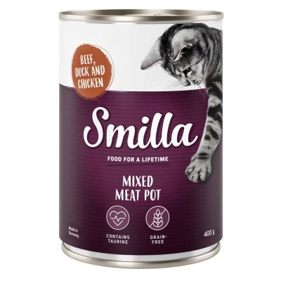 Smilla Mixed Meat Pot 6 x 400 g