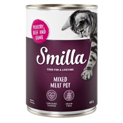 Smilla Mixed Meat Pot, 6 x 400 g