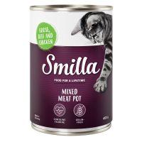Smilla Multi-viandes 6 x 400 g pour chat