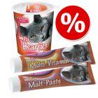 Πακέτο Σνακ: Smilla Multi-Vitamin & Malt Paste + Hearties