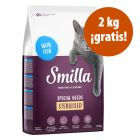 Smilla pienso para gatos 10 kg en oferta: 8 + 2 kg ¡gratis!