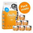 Smilla ração 4 kg + latas 6 x 200 g - Pack misto