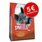 Smilla ração para gatos 10 kg com 5 € de desconto!