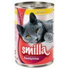 Smilla Rundvleesstukjes Kattenvoer 6 x 400 g