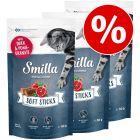 Smilla Soft Sticks, 3 x 50 g w super cenie!