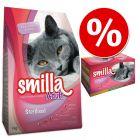 Пробен пакет Smilla Sterilised : Суха и консервирана храна
