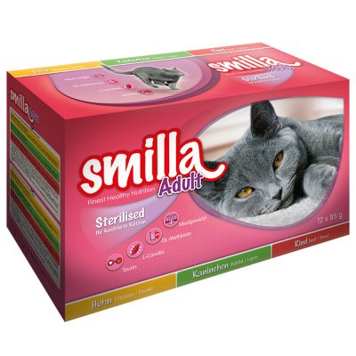 Smilla Sterilised Mixpack Plicuri