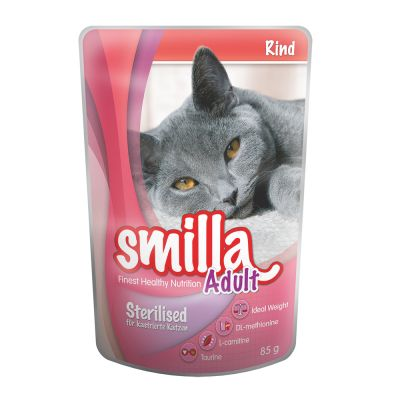 Smilla Sterilised pienso + comida húmeda - Pack mixto