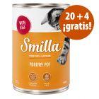 Smilla Tiernos Trocitos 24 x 400 g en oferta: 20 + 4 ¡gratis!