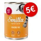 Smilla Tiernos Trocitos 6 x 400 g latas ¡por solo 5 €!
