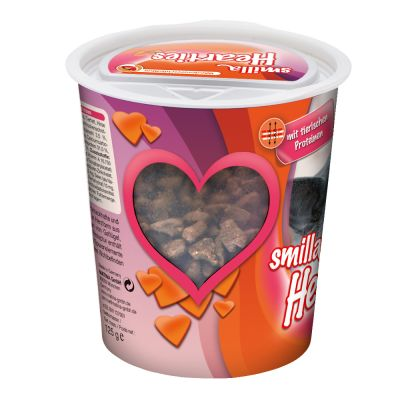 Smilla Toothies o Hearties snacks para gatos en oferta: 2ª ud. al 50%