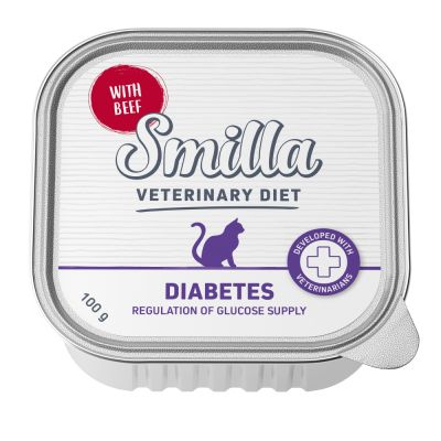 Smilla Veterinary Diet Diabetes, bœuf