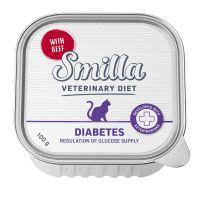 Smilla Veterinary Diet Diabetes bœuf pour chat
