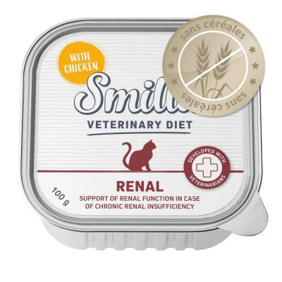 Smilla Veterinary Diet Renal, poulet