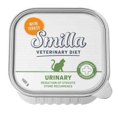 Smilla Veterinary Diet Urinary dinde pour chat