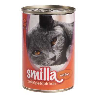 Smilla volaille 6 x 400 g pour chat