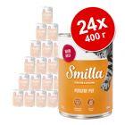 Бонус опаковка Smilla специалитети от птиче месо 24 x 400 г