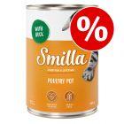 Smilla-siipikarjapata ja nautapata 24 x 400 / 800 g erikoishintaan!