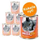 Smilla-siipikarjapata -kokeilupakkaus 6 x 800 g