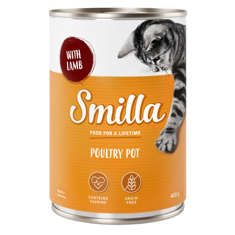 Smilla-siipikarjapata 6 x 400 g
