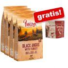 Snack GRATIS! 4 kg Purizon hrană uscată + 100 g Snackuri Vită & pui