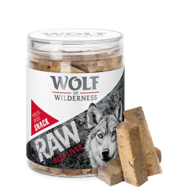 Snack liofilizzati Wolf of Wilderness Mini - RAW