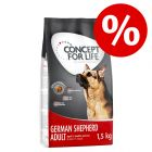 Sniženo, isprobajte! Concept for Life German Shepherd Adult