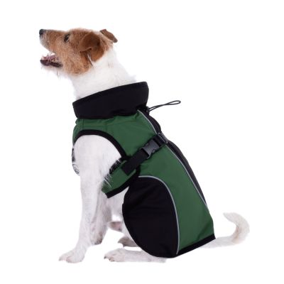 Soft Shell Dog Coat - Green