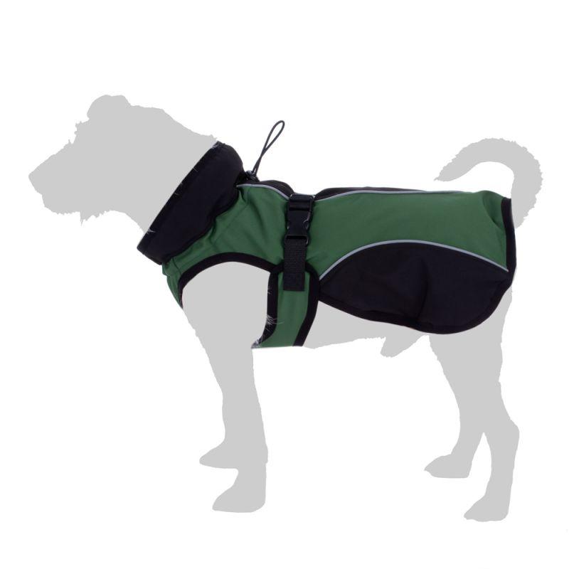 Soft Shell Dog Coat - Green