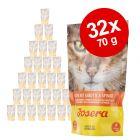 Soupe Josera 32 x 70 g pour chat