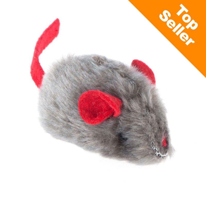 Souris sonore avec menthe à chat pour chat