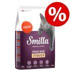 5 € sparen: 10 kg Smilla Adult Sterilised Trockenfutter