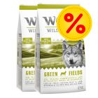 Sparepakke: 2 x 12 kg Wolf of Wilderness tørfoder